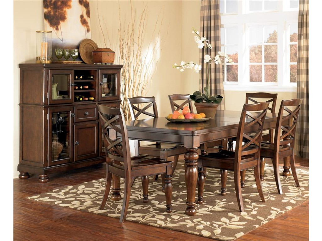 Ashley Furniture Porter House7 Piece Table Chair Set