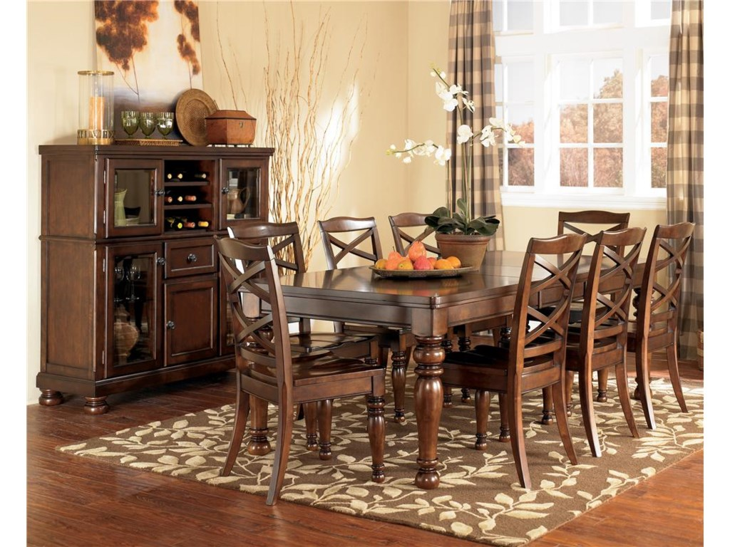 Ashley Furniture Porter9 Piece Table & Chair Set