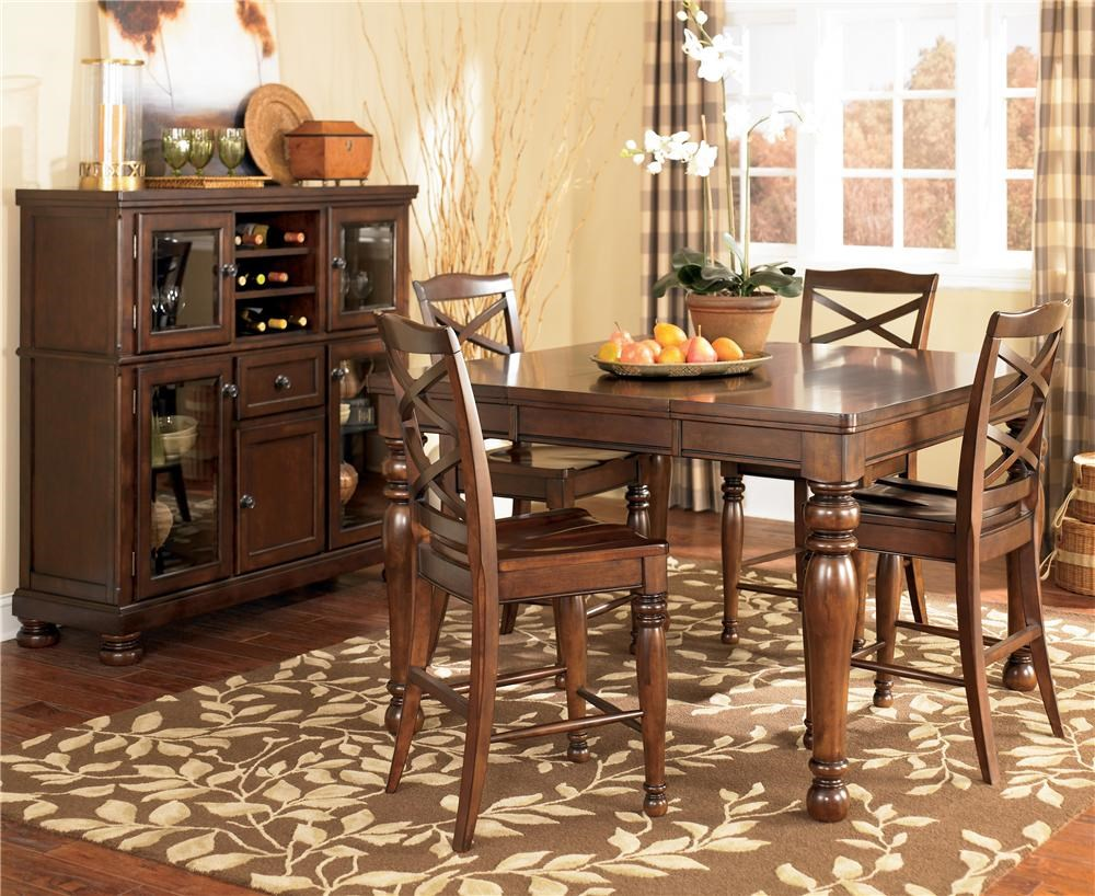 Shown With Counter Height Table U0026 Chair Set