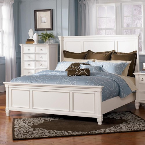 Millennium Prentice King Panel Bed - Wayside Furniture - Panel Beds
