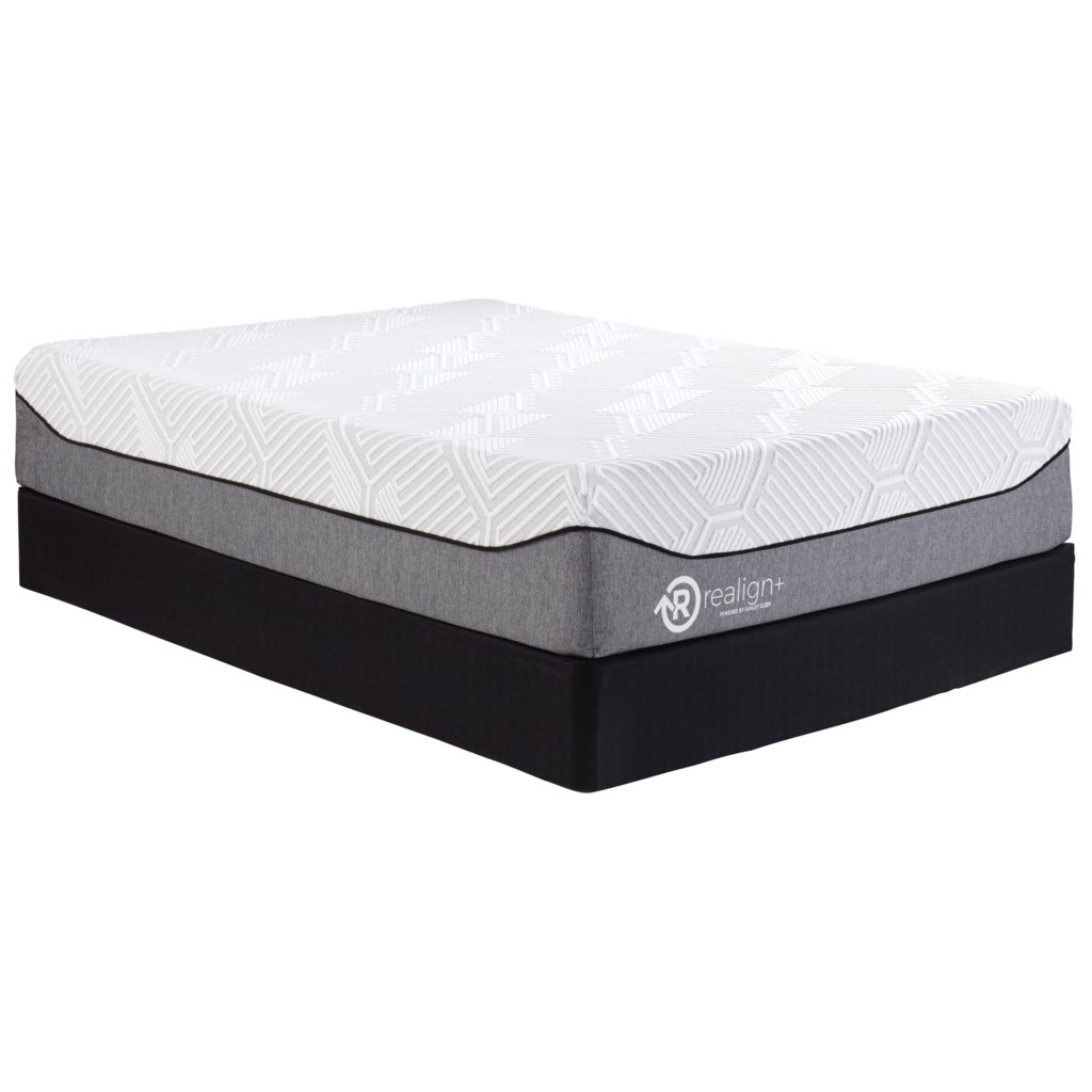 Ashley Sleep M745 Realign 13 Firm Queen 13 Gel Memory Foam Mattress
