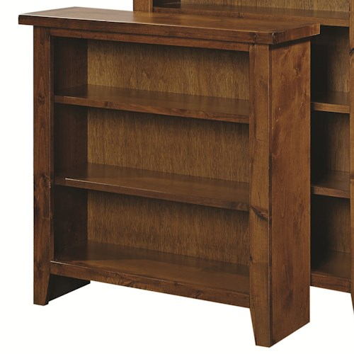 Aspenhome Alder Grove Small Bookcase with 2 Adjustable Shelves