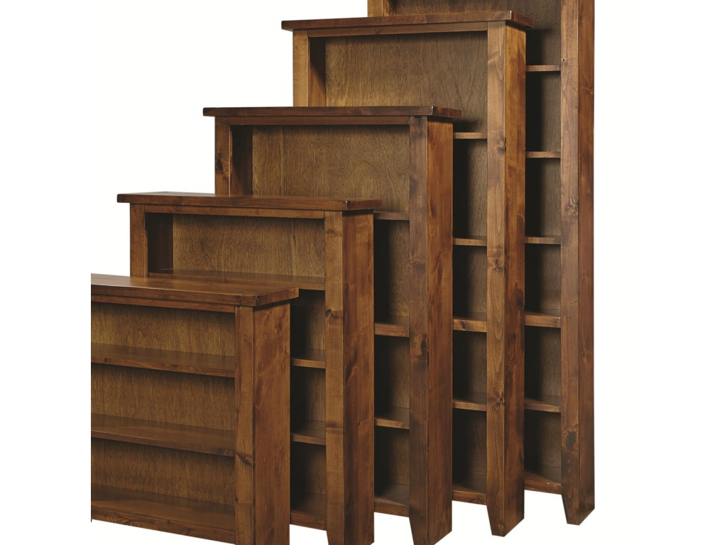Featured Bookcase is Fourth from Front