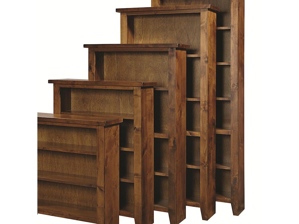 Highland Court Alder GroveBookcase 74
