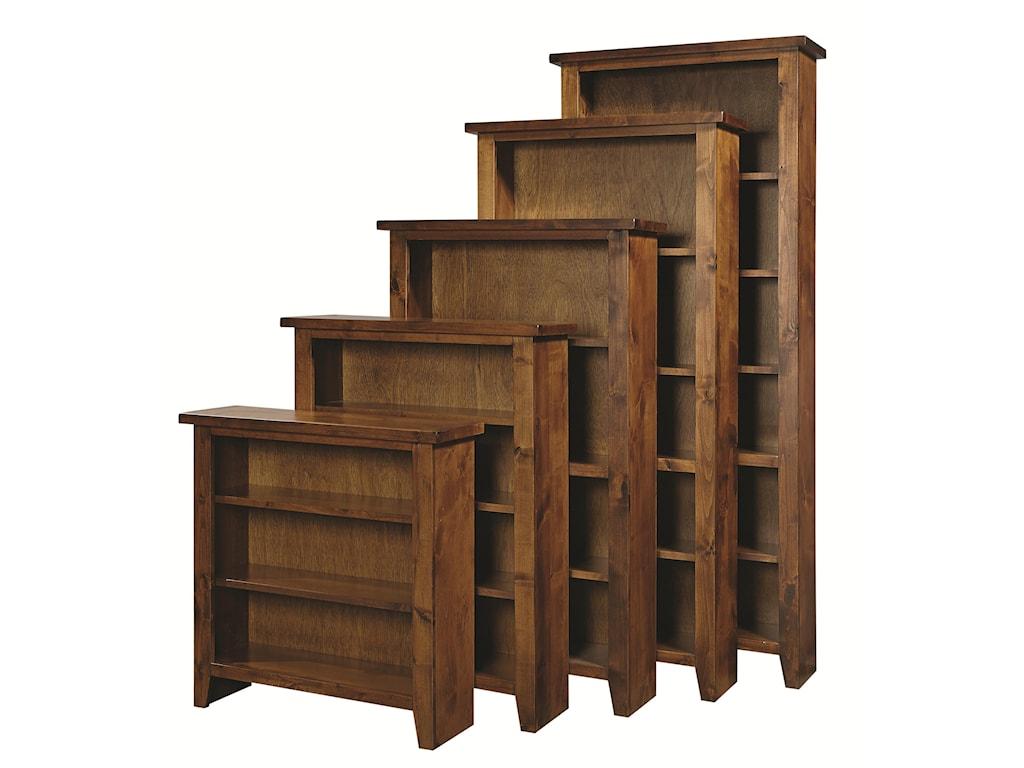 Aspenhome Alder GroveBookcase 84