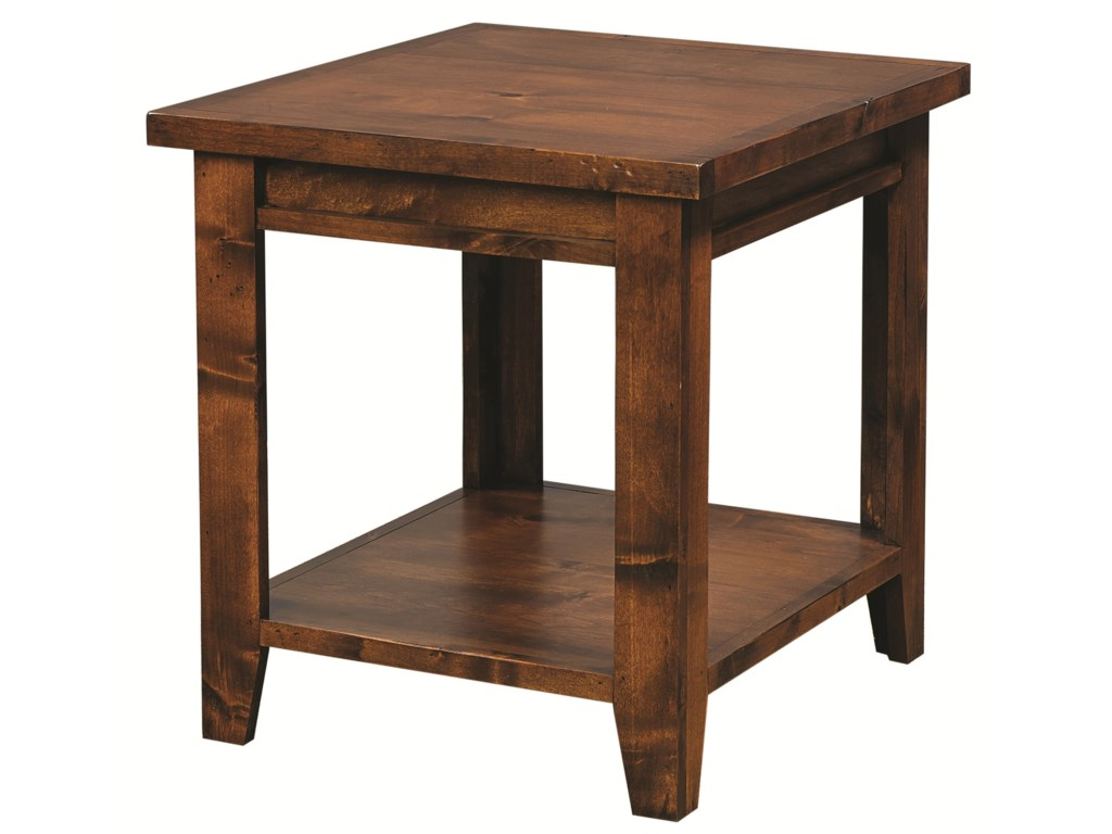Highland Court Alder GroveEnd Table