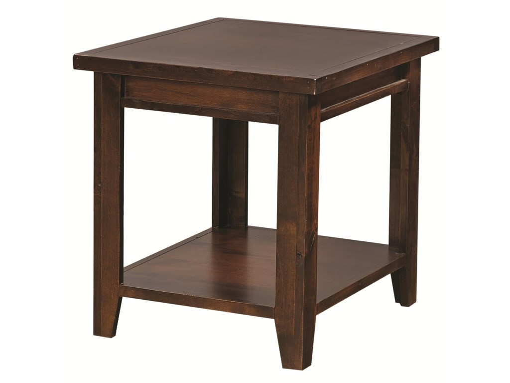 Hills of Aspen Alder GroveEnd Table