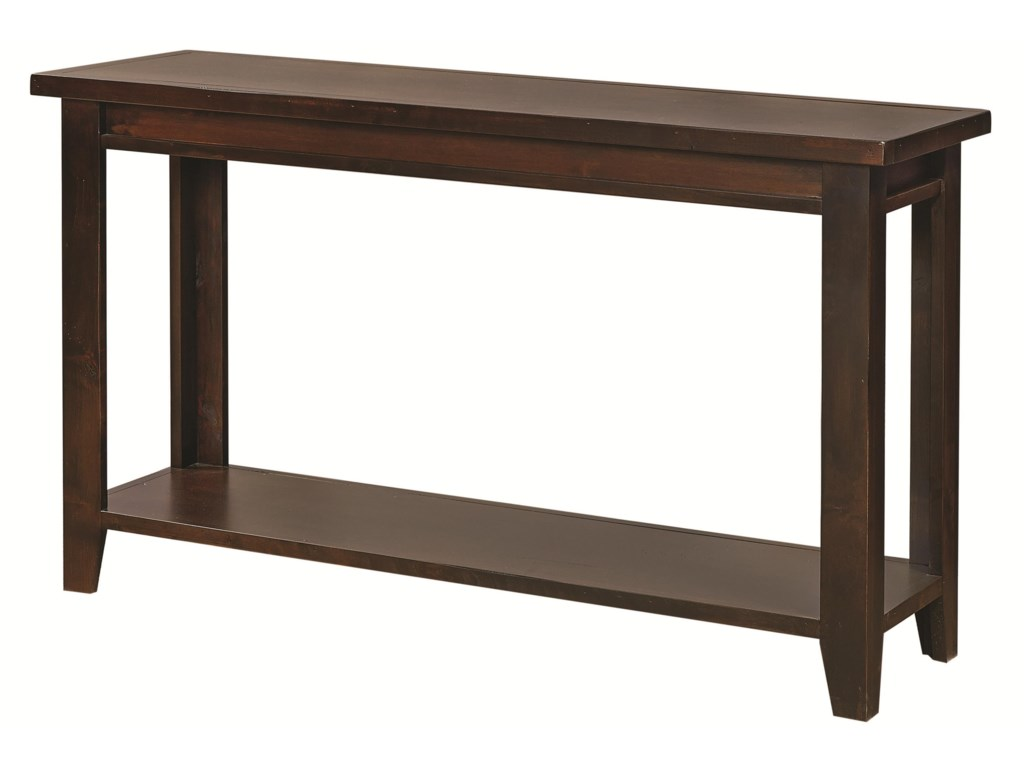 Hills of Aspen Alder GroveSofa Table