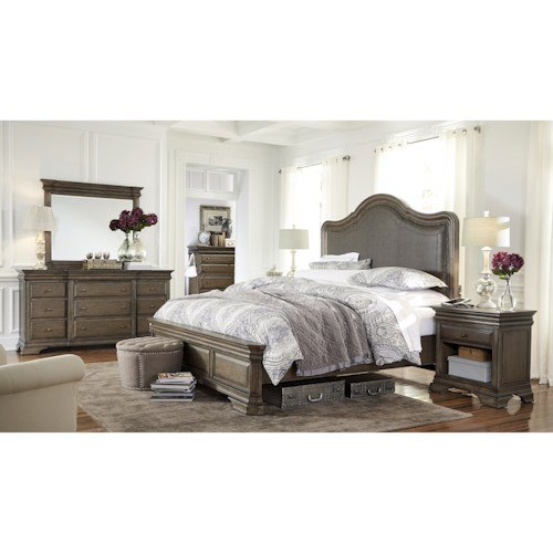 Aspenhome Arcadia King Bedroom Group
