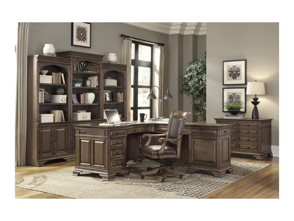 Aspenhome ArcadiaL-Shaped Desk