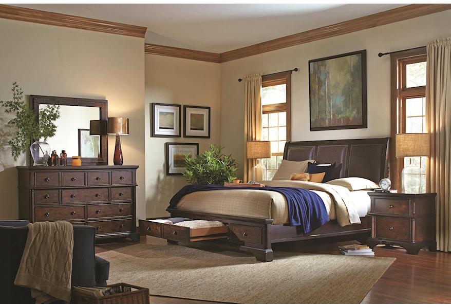 Aspenhome Bancroft 9 Drawer Chesser Belfort Furniture Dressers