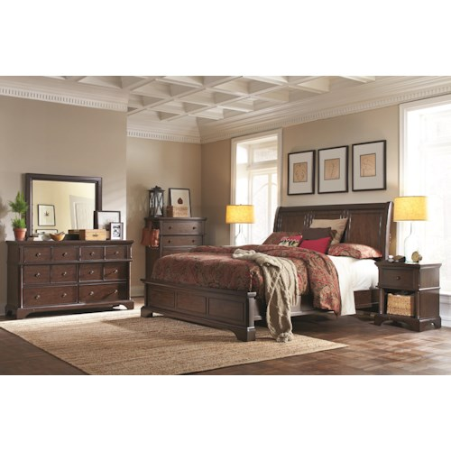 Aspenhome Bancroft California King Bedroom Group