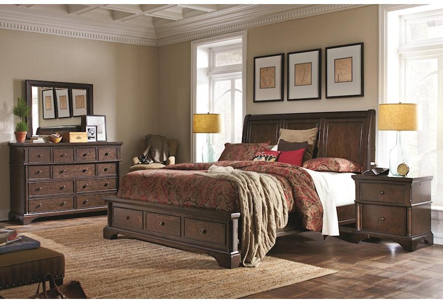 Aspenhome Bancroft California King Bedroom Group Fashion Furniture Bedroom Groups