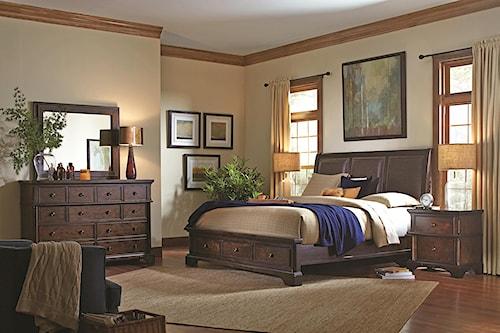 Aspenhome Bancroft California King Bedroom Group