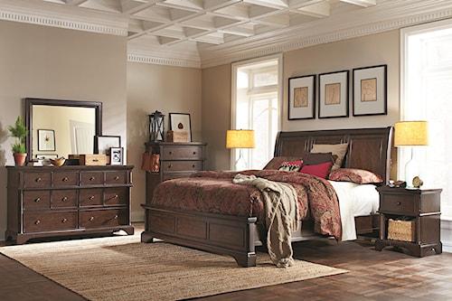 Aspenhome Bancroft Queen Bedroom Group