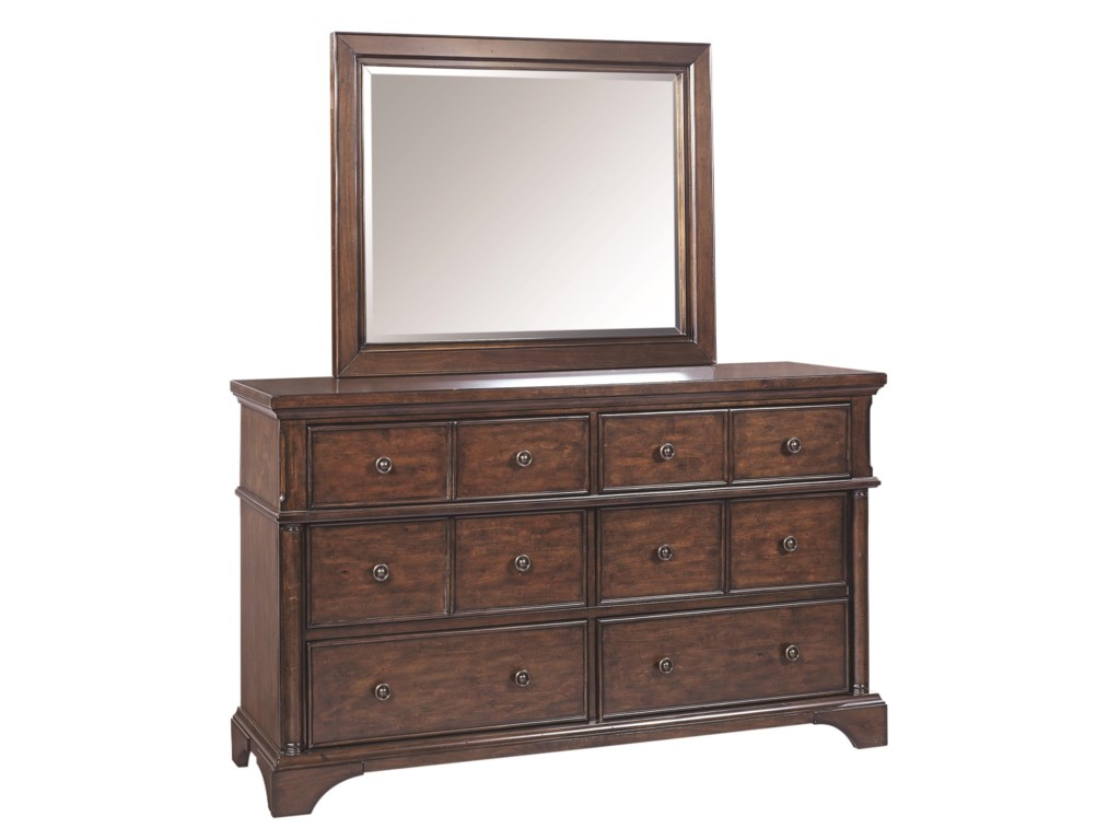 Aspenhome BancroftDresser and Mirror