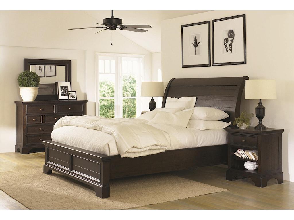 Aspenhome BayfieldQueen Sleigh Bed
