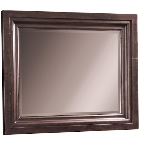 Aspenhome Bayfield Beveled Dressing Chest Mirror