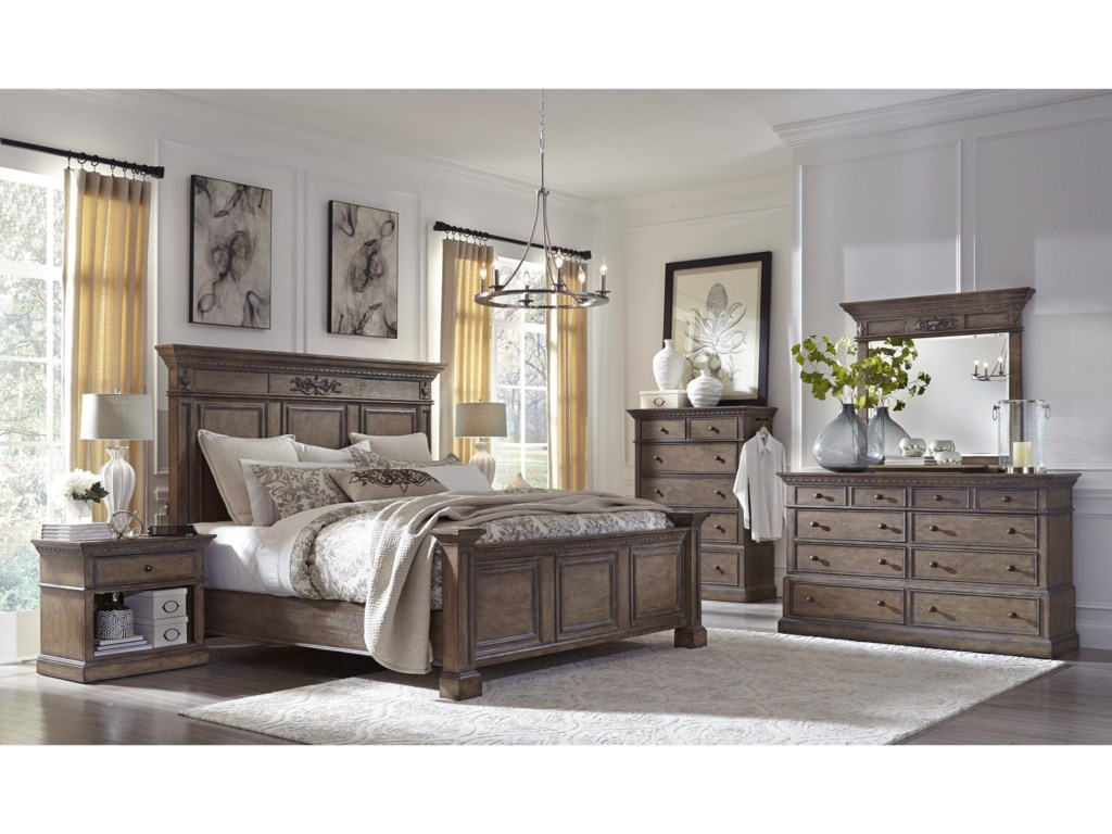 Aspenhome Belle MaisonKing Bedroom Group