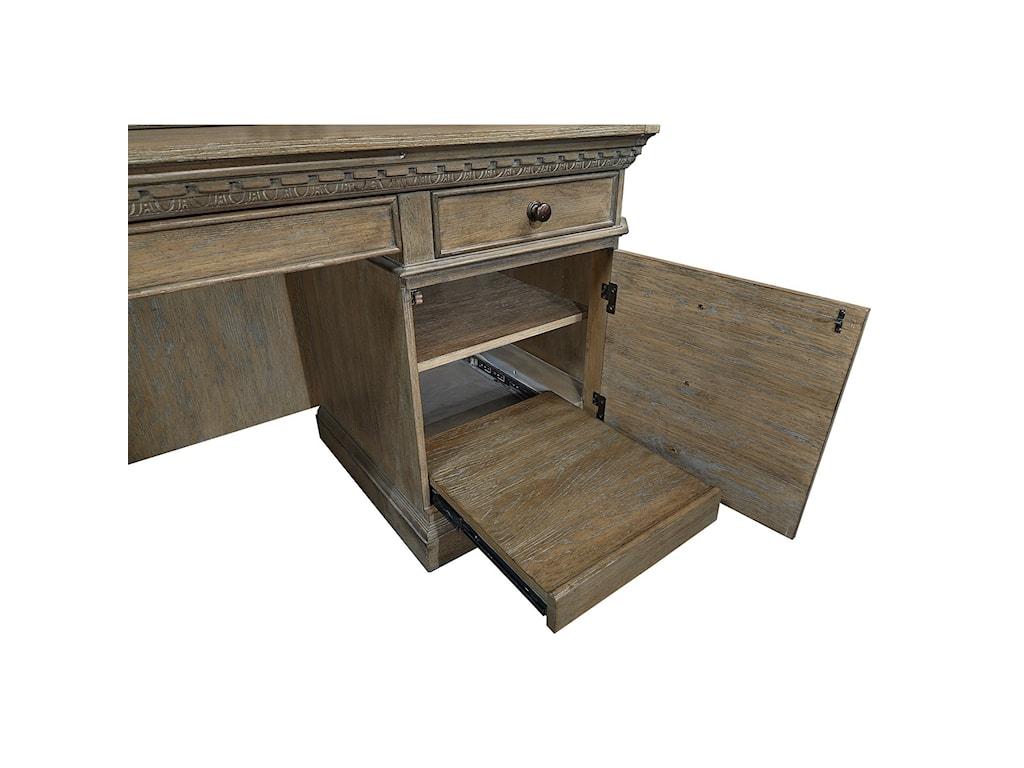 Aspenhome Belle MaisonCredenza Desk and Hutch