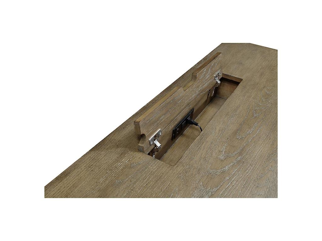 Aspenhome Belle MaisonDouble Pedestal Desk