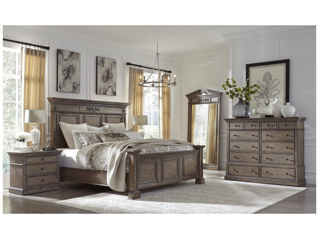 Aspenhome Belle MaisonKing Panel Bed