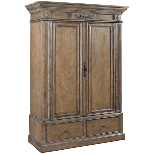 Aspenhome Belle Maison Armoire with AC Outlets
