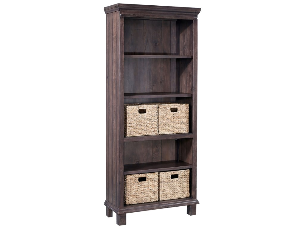 Aspenhome PreferencesBookcase with Baskets