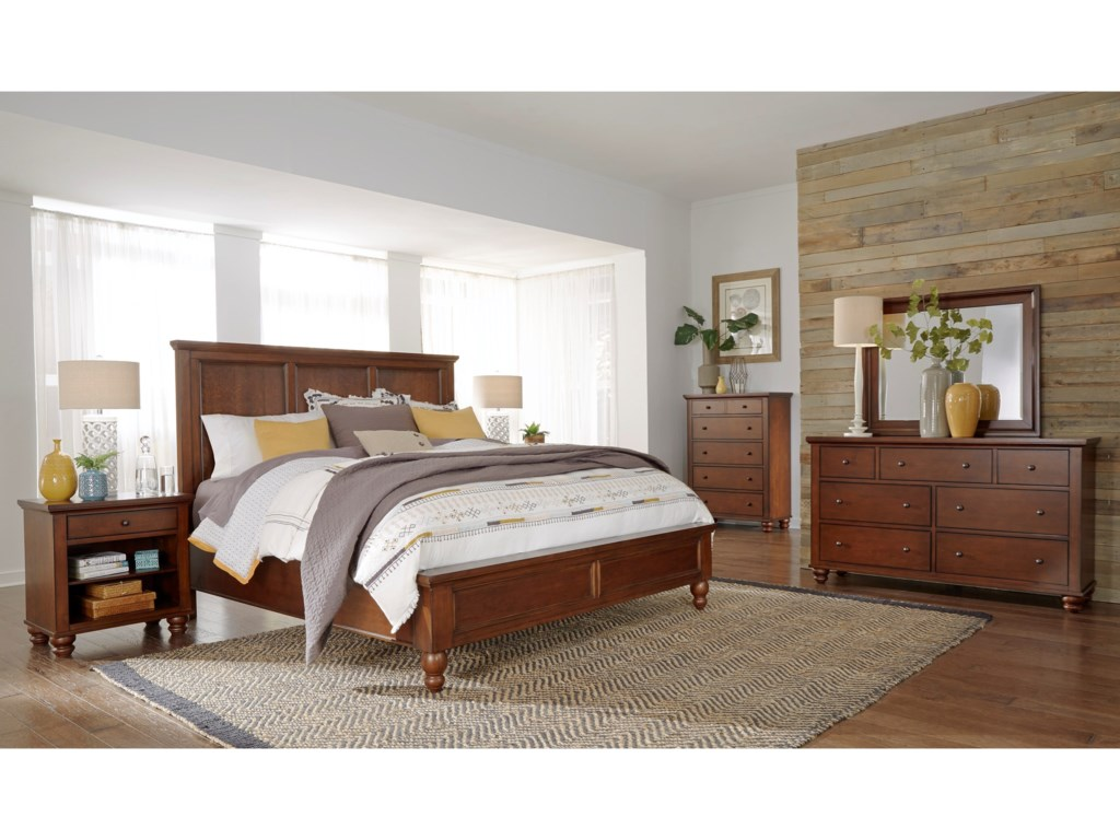 Aspenhome CambridgeKing Bedroom Group