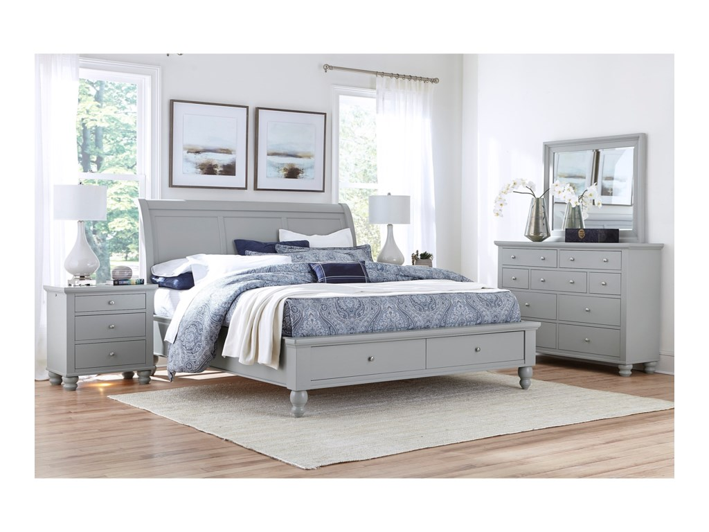 Aspenhome CambridgeCalifornia King Bedroom Group
