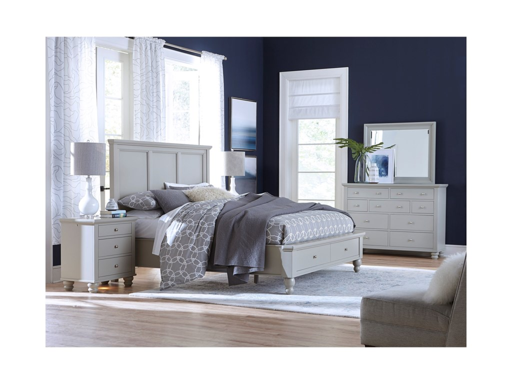 Aspenhome CambridgeQueen Bedroom Group