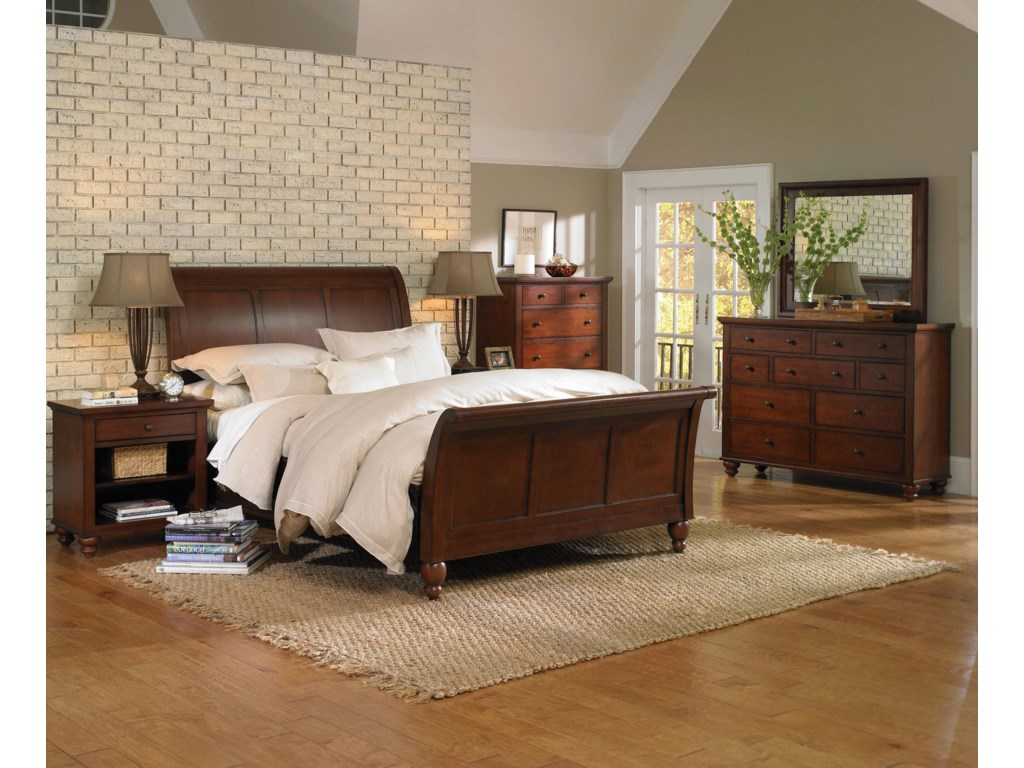 Aspenhome CambridgeQueen Bed