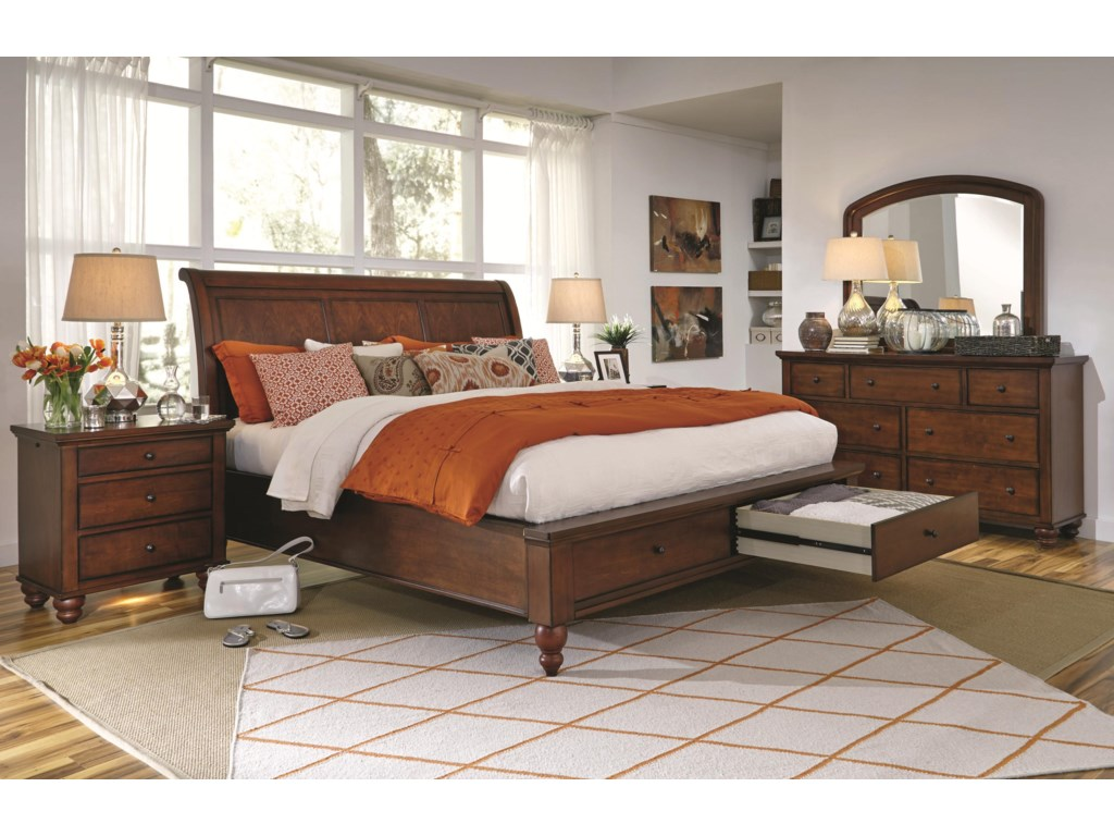 qsb hamilton trim footboard height transitonal br with iii liberty bed drawers queen storage item threshold products width sleigh iiiqueen furniture