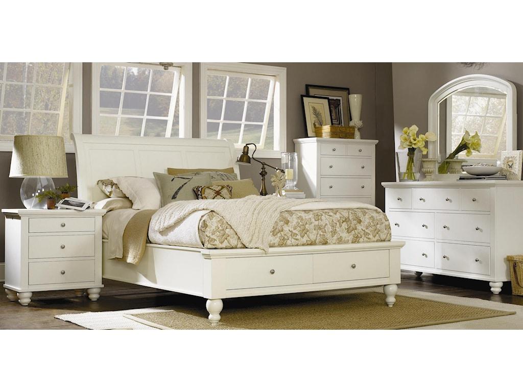 Shown with Storage Sleigh Bed, Chest, Dresser, and Mirror