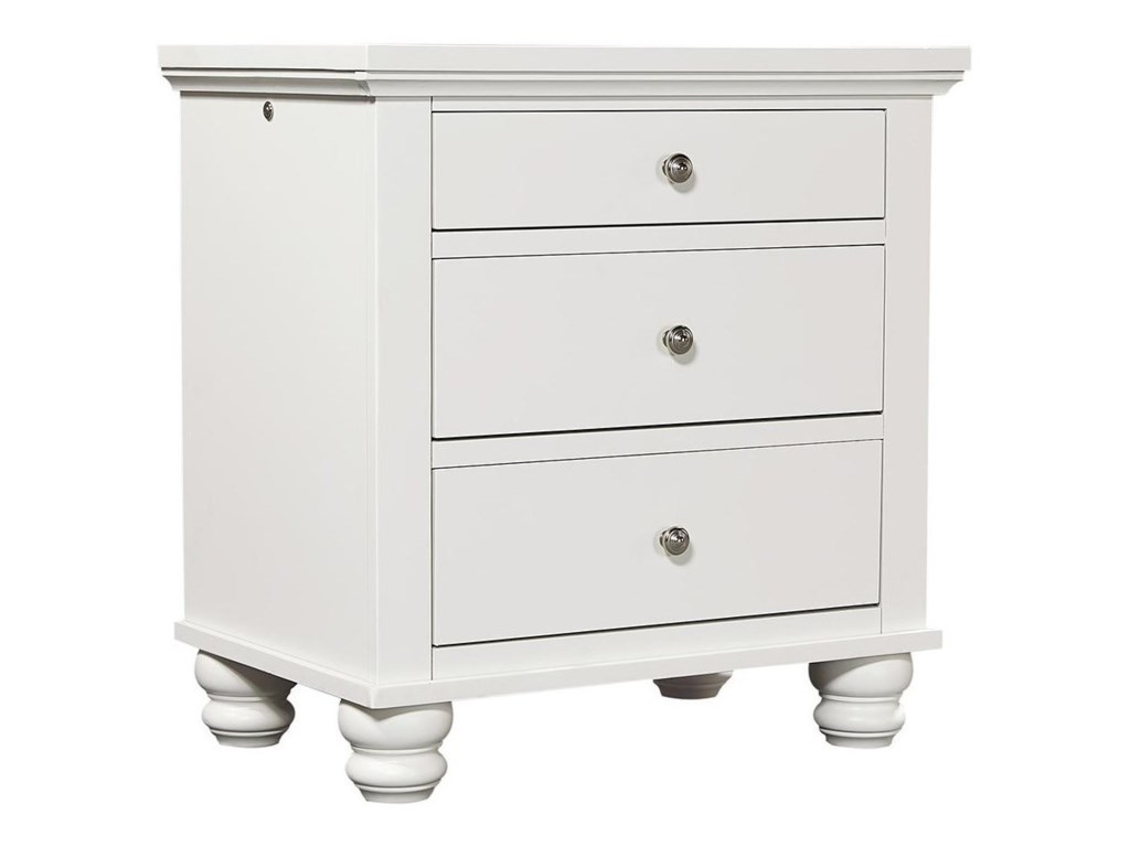 Aspenhome Cambridge CBLiv360 Night Stand