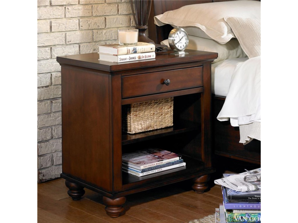 Aspenhome Cambridge1 Drawer Nightstand