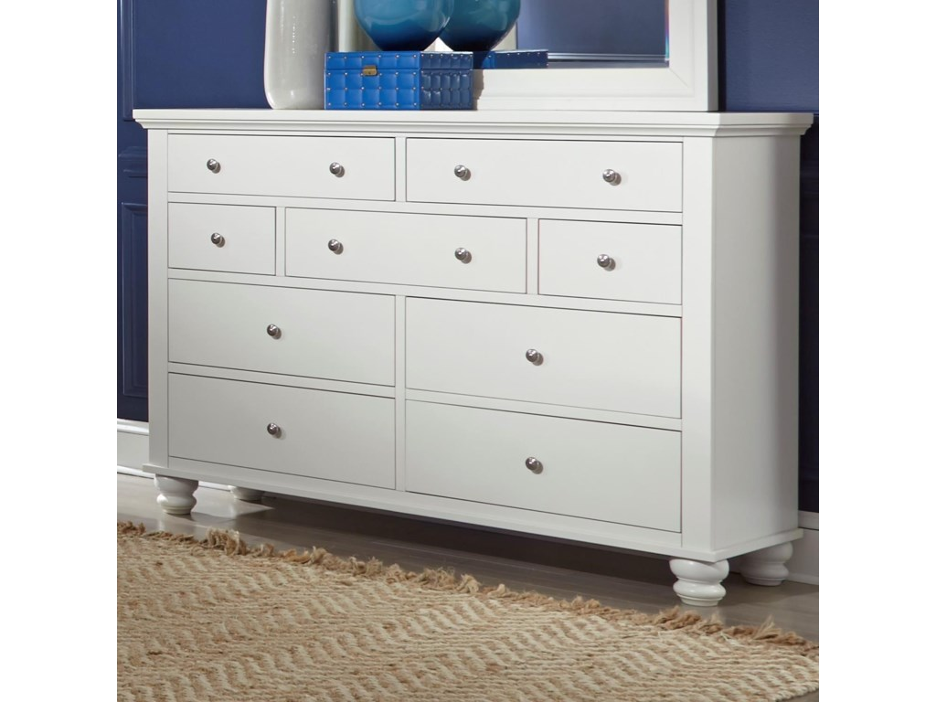 Highland Court Clinton7 Drawer Double Dresser
