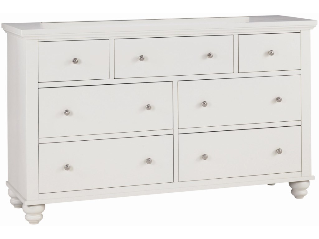 Aspenhome Cambridge7 Drawer Dresser
