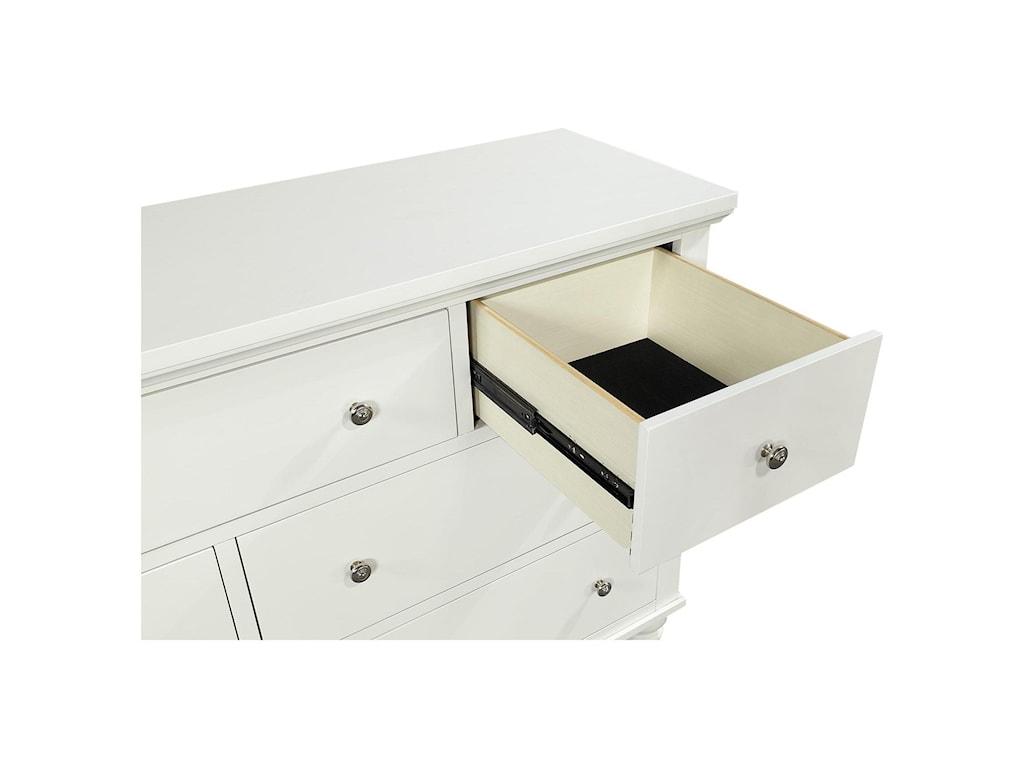 Aspenhome Cambridge CB7 Drawer Double Dresser