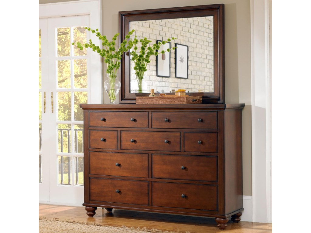Aspenhome Cambridge9 Drawer Chesser