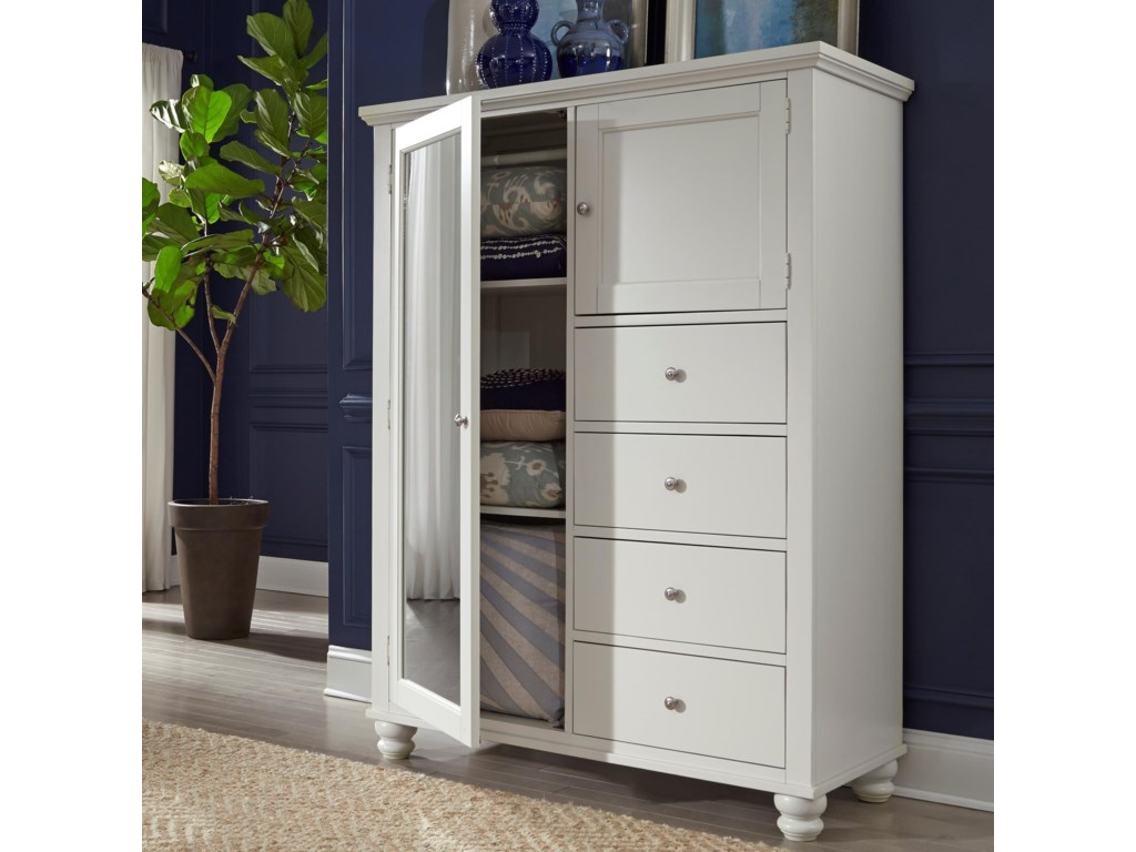 Aspenhome Cambridge4 drawer 2 Door Chiffarobe