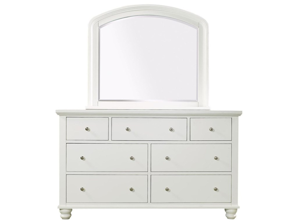 Aspenhome Cambridge CBDouble Dresser Mirror
