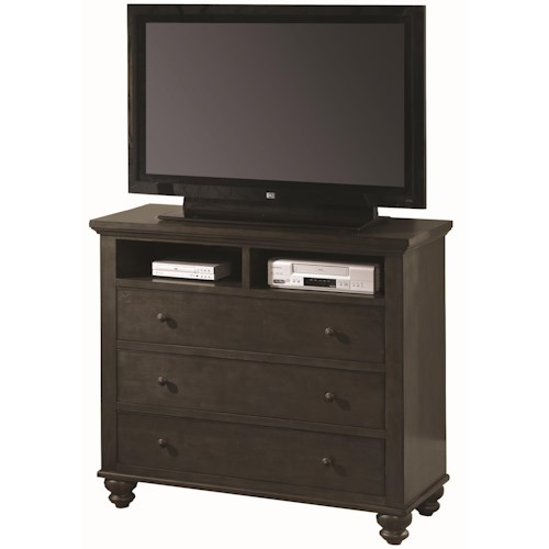 Aspenhome Cambridge Entertainment Chest