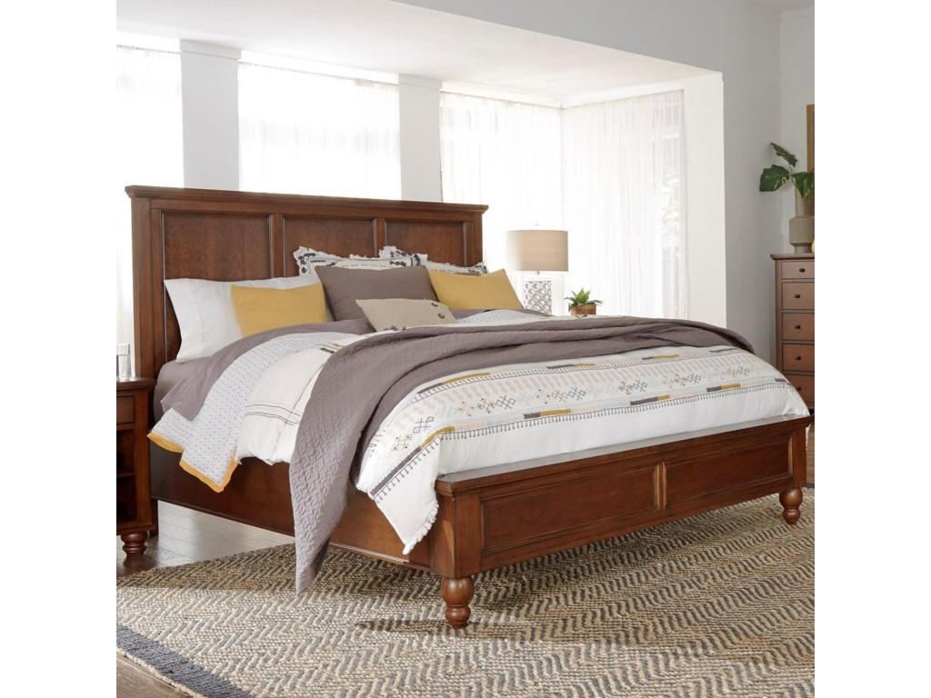 Aspenhome CambridgeQueen Panel Bed