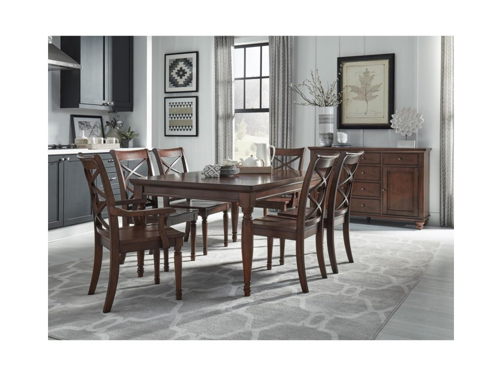 Aspenhome CambridgeTable & Chair Set