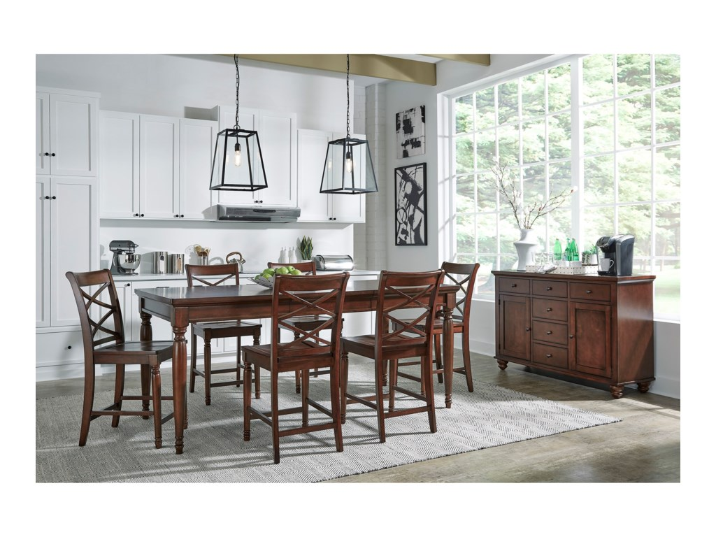 Aspenhome Cambridge5 Pc. Pub Table Set