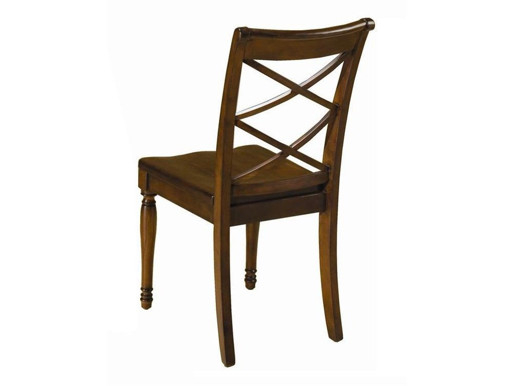 Aspenhome CambridgeDouble X Side Chair