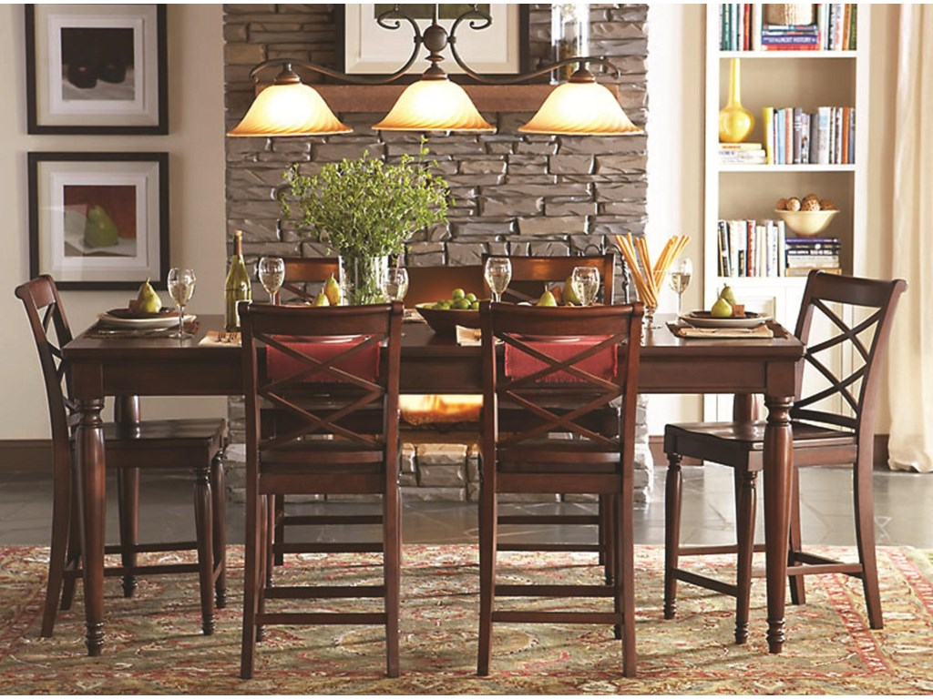 Shown with Counter Height Leg Table