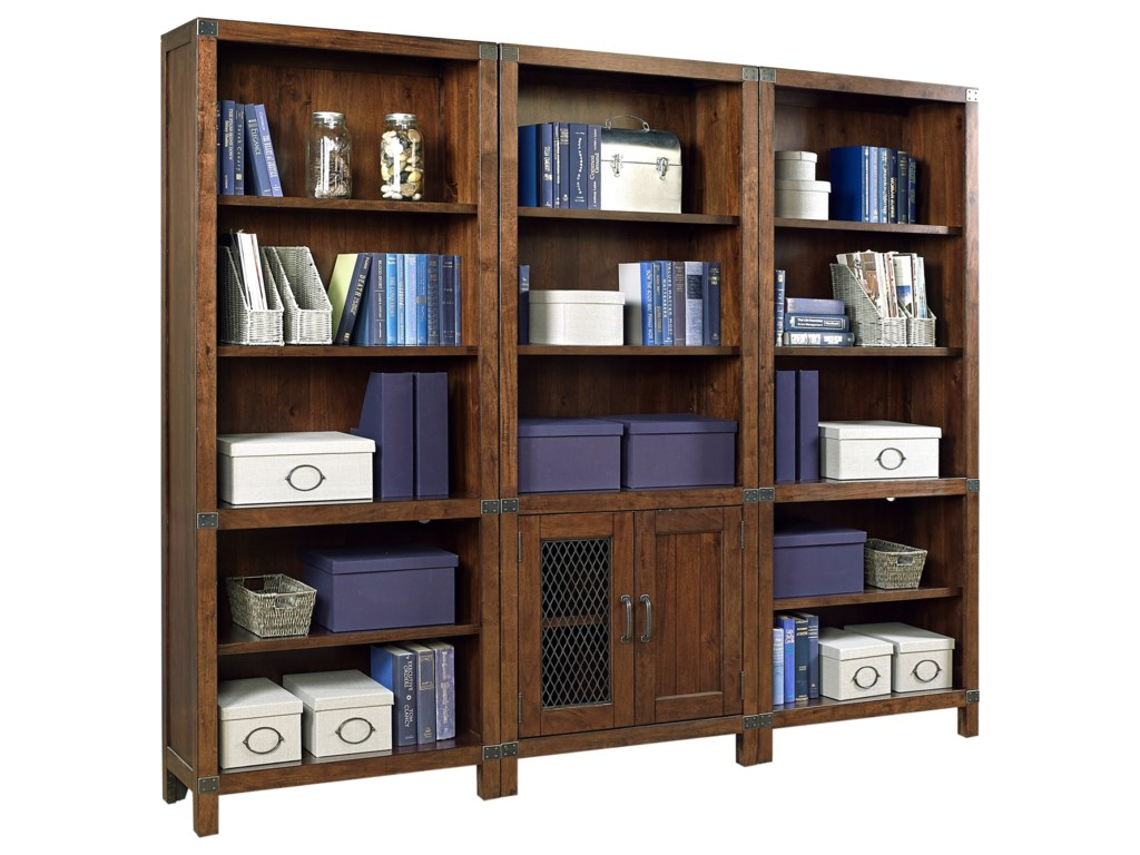 Highland Court CanfieldBookcase Wall