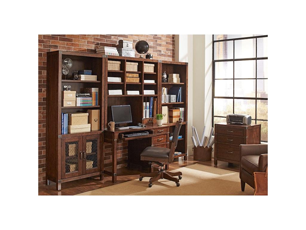 Highland Court CanfieldOpen Bookcase
